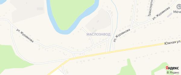 Маслозаводская улица на карте села Кыштовки Новосибирской области с номерами домов