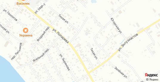 Поселок ЗСНХМ в Нижневартовске с номерами домов на карте. Спутник и схема онлайн