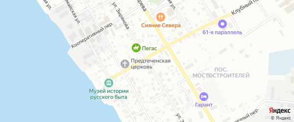 Улица Зырянова на карте Нижневартовска с номерами домов