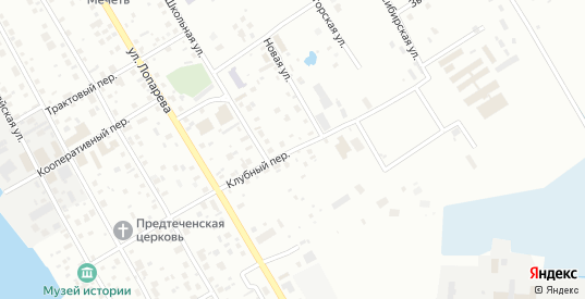 Клубный переулок в Нижневартовске с номерами домов на карте. Спутник и схема онлайн