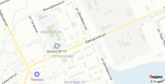 Тепличный поселок в Нижневартовске с номерами домов на карте. Спутник и схема онлайн