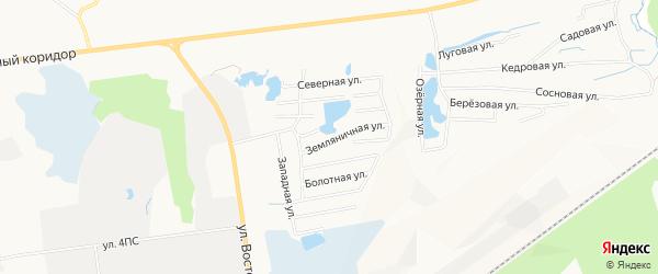 Садовое товарищество ДНТ Малиновка на карте Нижневартовска с номерами домов