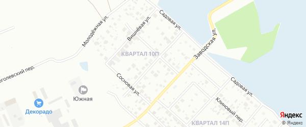 Брусничная улица на карте Нижневартовска с номерами домов
