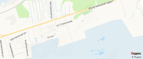 СНТ ДНТ Монастырский двор на карте Нижневартовска с номерами домов