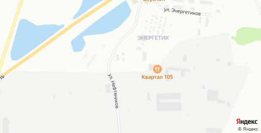 Улица Энергетиков в Муравленко с номерами домов на карте. Спутник и схема онлайн