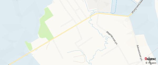 Садовое товарищество Рябинушка МВМУ на карте Нижневартовского района Ханты-Мансийского автономного округа с номерами домов