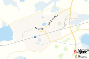 Карта пгт Чаны Новосибирская область