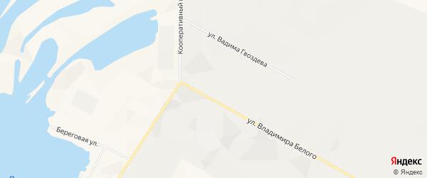Садовое товарищество Авиатор-2 на карте Нижневартовского района Ханты-Мансийского автономного округа с номерами домов