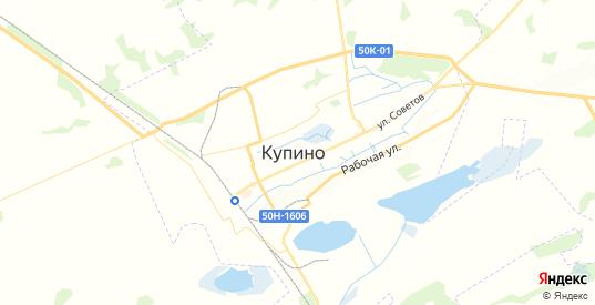 Карта Купино с улицами и домами подробная. Показать со спутника номера домов онлайн