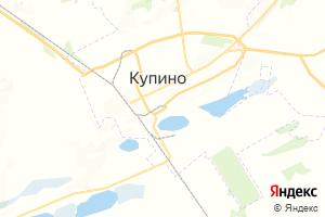 Карта г. Купино Новосибирская область