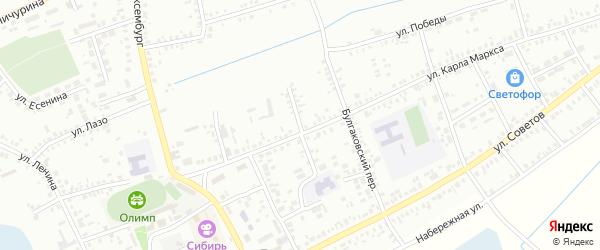 Улица Зеленая Роща на карте Купино с номерами домов