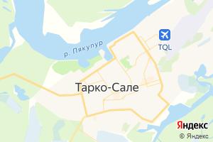 Карта г. Тарко-Сале Ямало-Ненецкий автономный округ