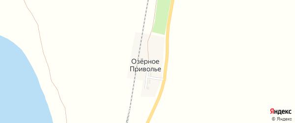 Привольная улица на карте железнодорожного разъезда Озерного Приволья Новосибирской области с номерами домов