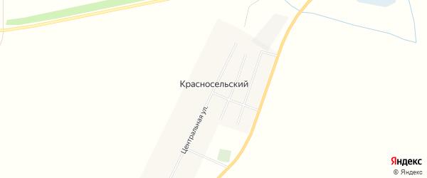 Карта Красносельского поселка в Новосибирской области с улицами и номерами домов