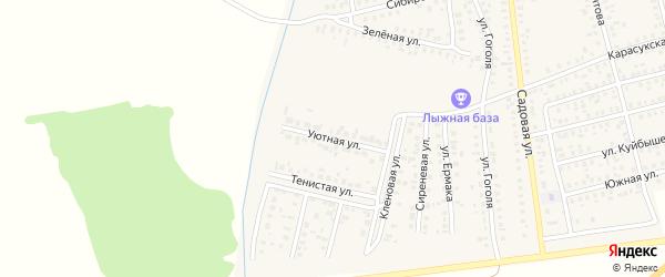 Уютная улица на карте Карасука с номерами домов