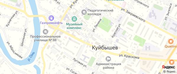 Улица Ленина на карте Куйбышева с номерами домов