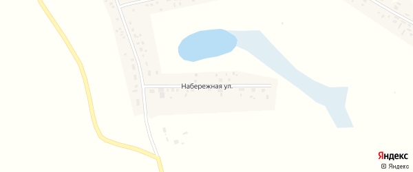 Набережная улица на карте села Морозовки Новосибирской области с номерами домов