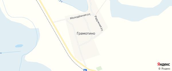 Карта поселка Грамотино в Новосибирской области с улицами и номерами домов