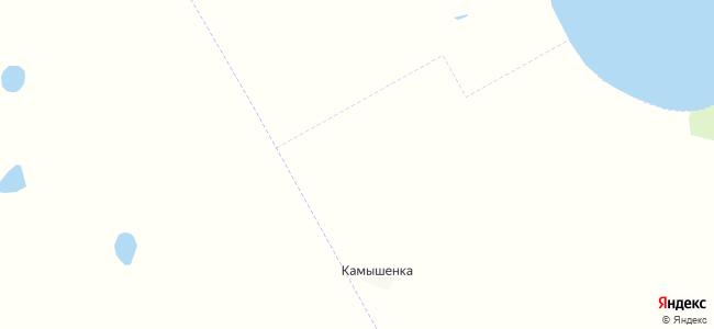 Граничное на карте