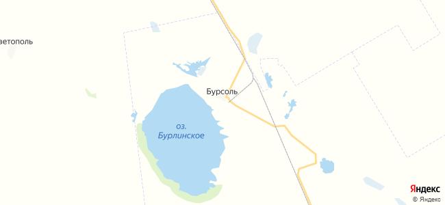 Бурсоль на карте