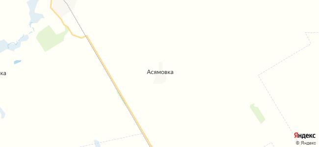 Асямовка на карте