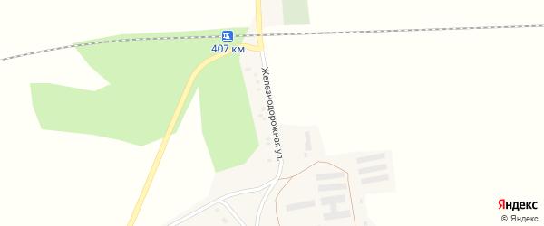 Железнодорожная улица на карте железнодорожной станции 206 км Новосибирской области с номерами домов