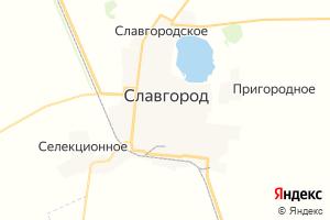 Карта г. Славгород Алтайский край