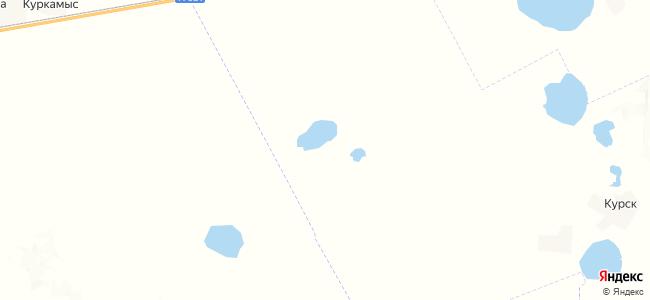 Попасное на карте