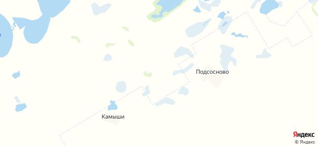 Волчий Ракит на карте