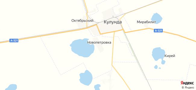 Новопетровка на карте