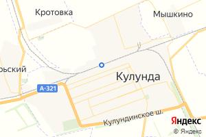 Карта с. Кулунда Алтайский край