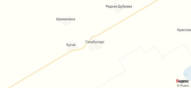 Гальбштадт на карте