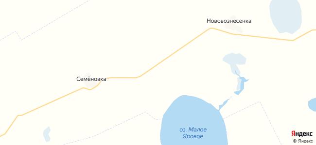 Владимировка на карте