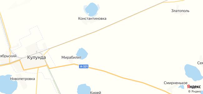 Городецкий на карте