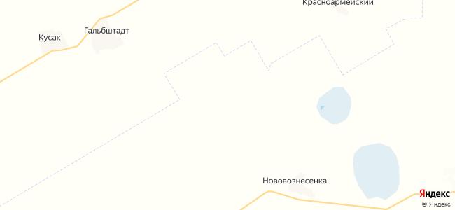 Зеленая Роща на карте