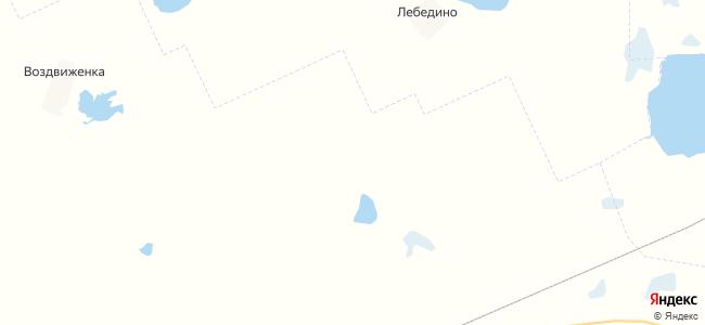 Белоцерковка на карте