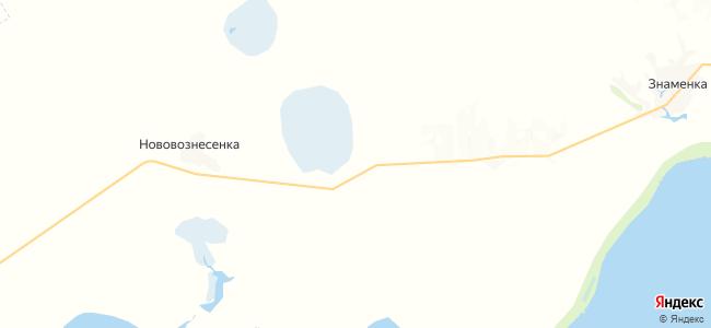 Даниловка на карте