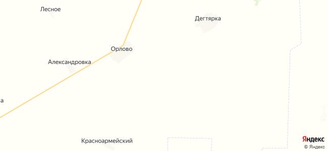 Дворское на карте