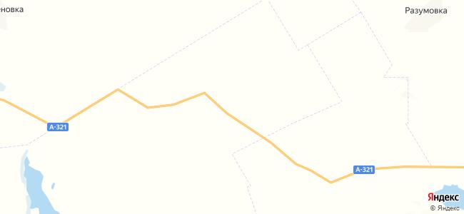 Алексеевка на карте