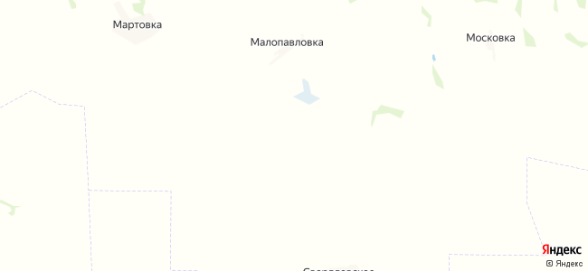 Нововасильевка на карте