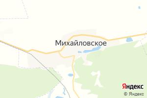 Карта с. Михайловское Алтайский край