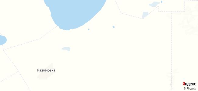 Тизек на карте