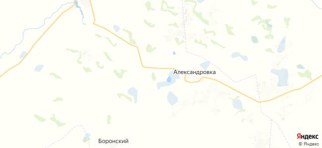 Украинский на карте