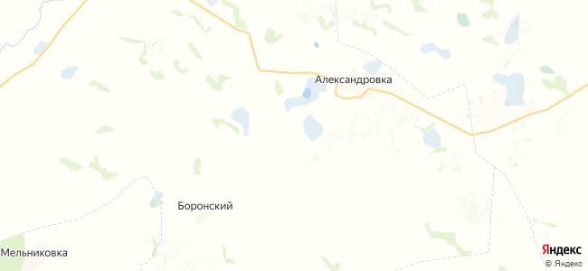 Добровольский на карте