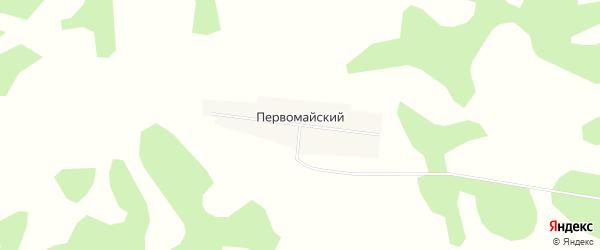 Карта Первомайского поселка в Новосибирской области с улицами и номерами домов