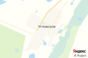Карта с. Угловское Алтайский край