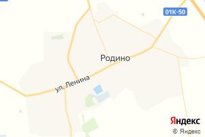 Карта с. Родино Алтайский край