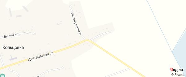 Улица Энергетиков на карте села Кольцовки Новосибирской области с номерами домов