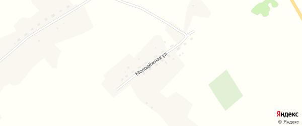 Молодежная улица на карте деревни Озерки 6-е Новосибирской области с номерами домов