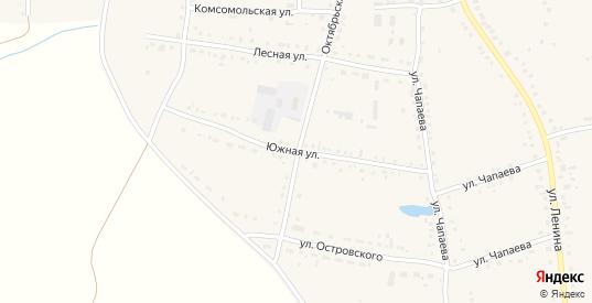 Южная улица в Каргате с номерами домов на карте. Спутник и схема онлайн
